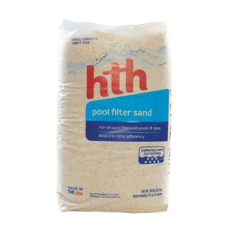 HTH 67074 Pool Filter Sand, 50 Lb