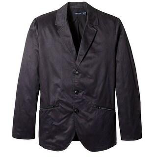 Nautica NEW Blue Mens Size Large L Three Button Blazer Sportcoat