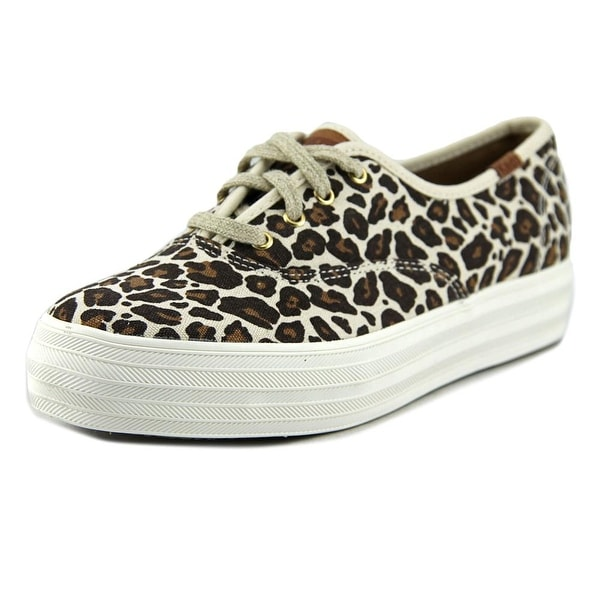 Keds Triple Round Toe Canvas Sneakers