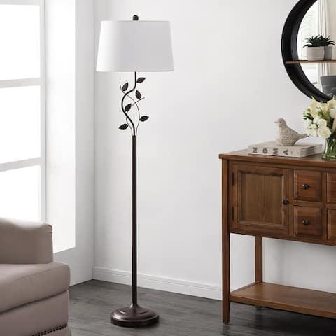 "Safavieh Lighting 61.5-inch Rudy Iron Floor Lamp - 16"" x 16"" x 61.5"""
