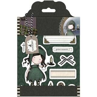 Santoro Gorjuss Tweed Rubber Stamps-Nightlight