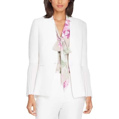 Tahari ASL Womens Petites Jacket Suit Separate Business