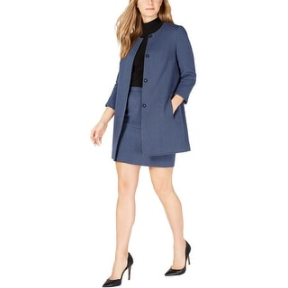 Link to Anne Klein Womens Tweed Jacket, blue, 16 Similar Items in Women's Outerwear
