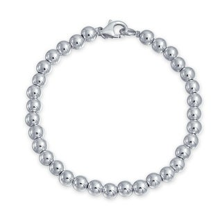 49fe23621129 Sterling Silver Bracelets   Find Great Jewelry Deals Shopping at  Overstock.com