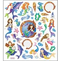 Multi-Colored Stickers-Mystical Mermaids
