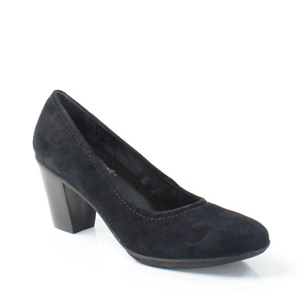 Rose Petals NEW Black Jacyln Shoes Size 8M Classics Suede Heels