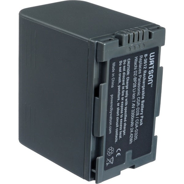 Watson CGR-D28 Lithium-Ion Battery Pack (7.4V, 3300mAh)