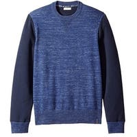 CALVIN KLEIN JEANS NEW Blue Mens Medium M Space Dye Crewneck Sweater