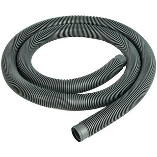 Heavy-Duty Silver Pool Filter Connect Hose - 9' x 1.5""