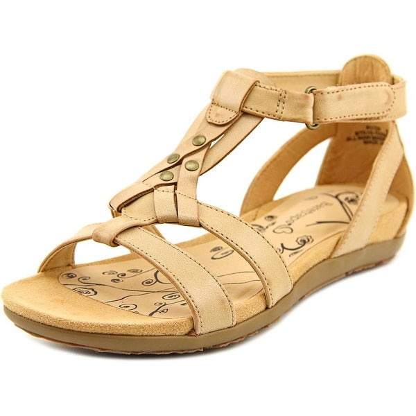 Baretraps Ryen Women Open Toe Synthetic Tan Gladiator Sandal