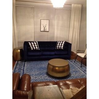 Safavieh Adirondack Vintage Silver/ Blue Rug (9' x 12')