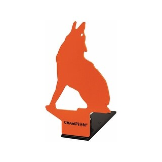 Vista 44885 champion metal pop-up target howling coyote