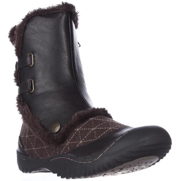 Jambu Iceburg Mid-Calf Winter Boots, Dark Brown