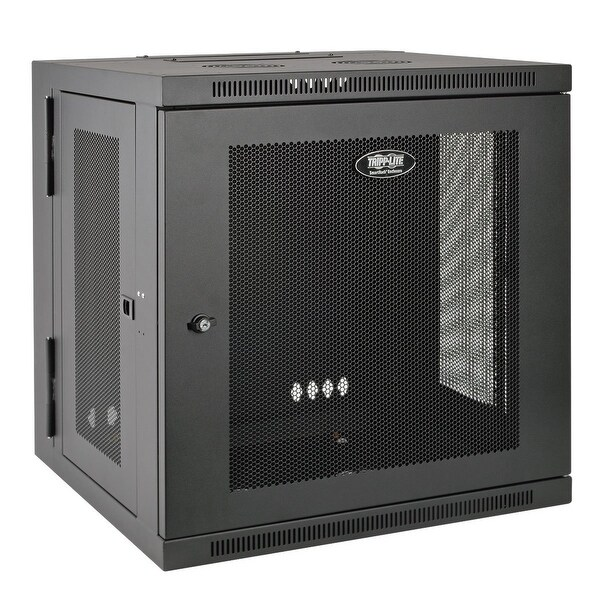 "Tripp Lite 10U Wall Mount Rack Enclosure Server Cabinet, Hinged, 20.5"" Deep, Switch-Depth (Srw10us)"