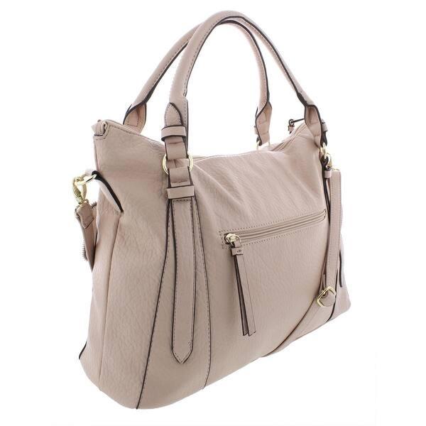 88cd1442e35 Shop Jessica Simpson Womens Everly Tote Handbag Faux Leather ...