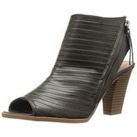 CL by Chinese Laundry Women's Runway Dress Sandal, Black Burnished, Size 8.5