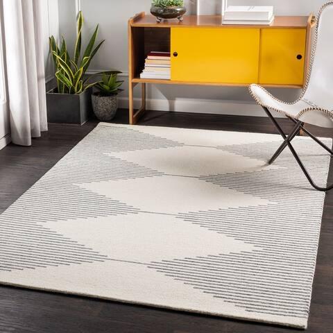 Zepp Modern Wool Handmade Area Rug