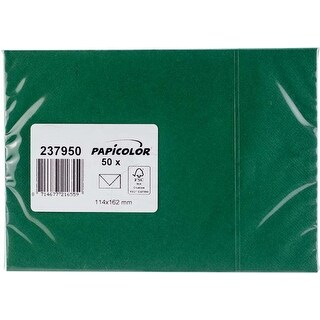 Dark Green - Papicolor A6 Envelopes 50/Pkg