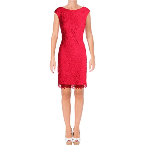 Lauren Ralph Lauren Womens Casual Dress Crochet Pattern