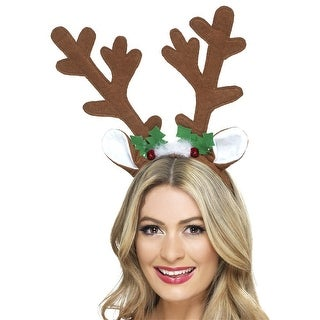 Reindeer Antlers Adult Costume Accessory