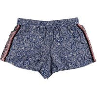 French Connection Womens Printed Mini Short Shorts