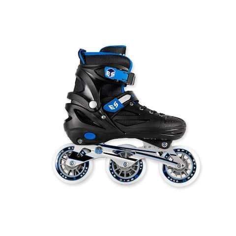 Epic Storm 90MM 3-Wheel Bright LED Light Up Inline Speed Skates