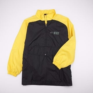 NIKE Waterproof Half Zip Pullover Parka Rain Jacket Youth 10-12 Med