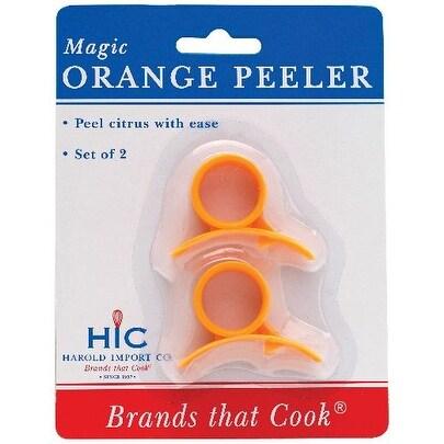 """HIC 234 Magic Orange Peeler, Plastic, 3"""""""