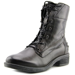 OTBT Carlsbad Women Round Toe Leather Boot