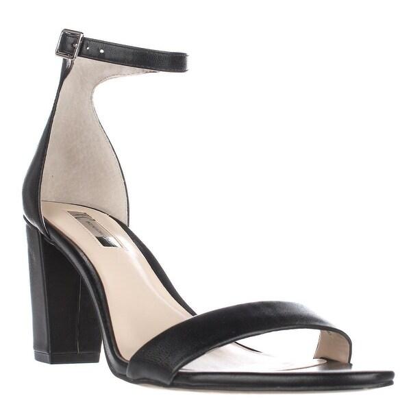 I35 Kivah Ankle Strap Dress Sandals, Black