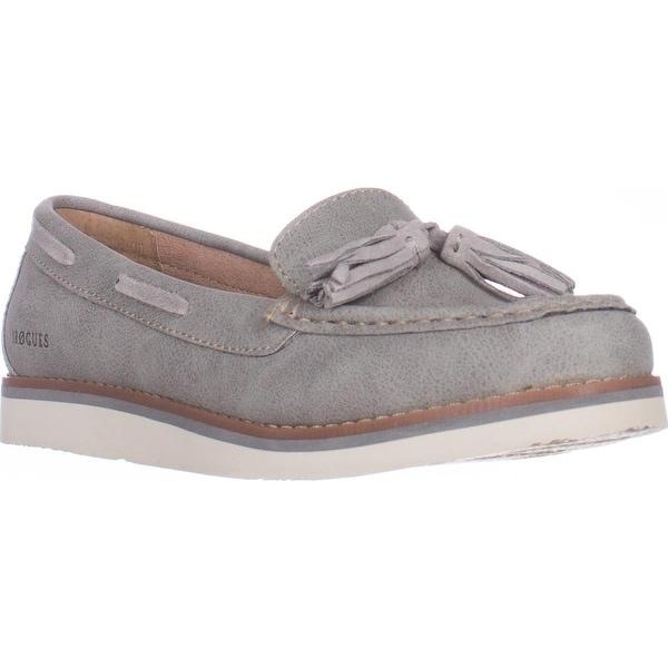 B.O.C. Born Bennett Flat Casual Loafers, Gray