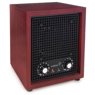 Ivation Ozone Generator Air Purifier, Ionizer & Deodorizer  Purifies Up to 3,500 Sq/Ft