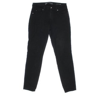 Guess Womens Solid Flat Front Skinny Jeans