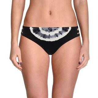 Lucky Brand Womens Tie-Dye Strappy Swim Bottom Separates
