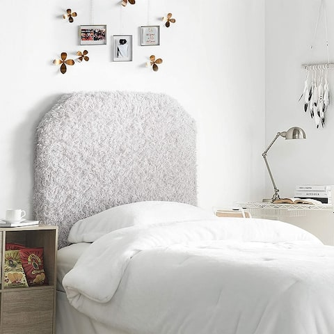 Mo' Fluffy Feathers College Headboard - Plush Texture