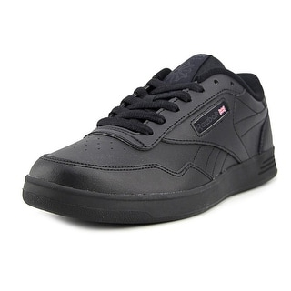 Reebok Club Memt Classic Men  Round Toe Leather Black Sneakers
