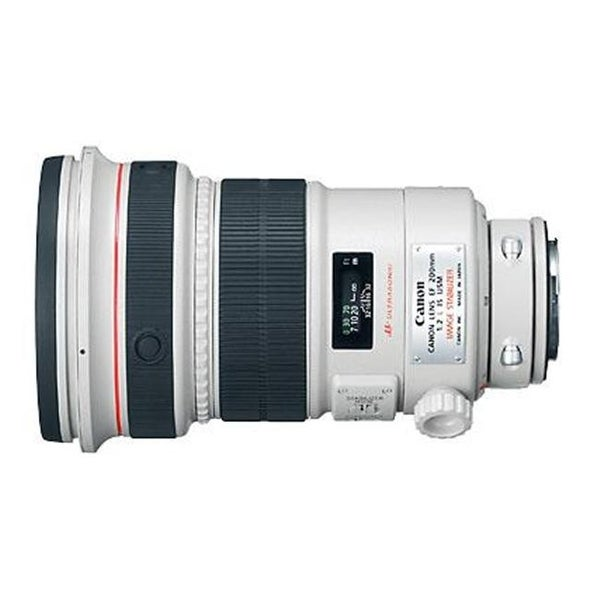 Canon 2297B002 - EF 200mm F-2L IS USM Telephoto Lens