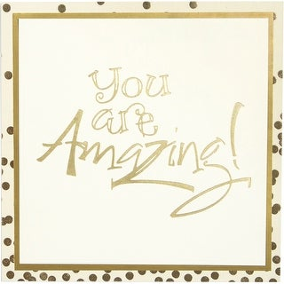 Spellbinders Glimmer Impression Plate-You Are Amazing