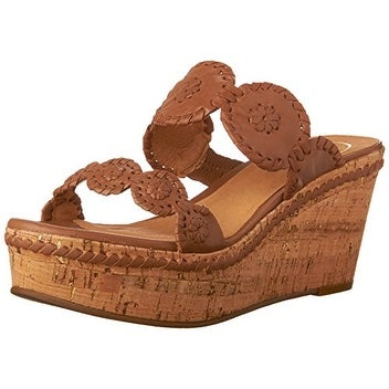 8c1a9cdab4 Shop Jack Rogers Women's Leigh Platform Sandal,Cognac,7.5 M US - Free  Shipping Today - Overstock - 20290252