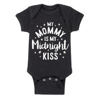 Midnight Kiss Mommy - First New Year Infantone Piece