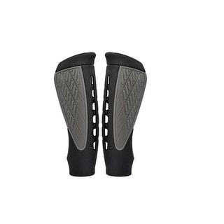 Cateye Super Ergonomic Bicycle Handlebar Grips - Black/Grey