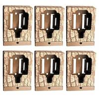 (6) Browning Trail Camera Security Box - BTCSB - Camouflage