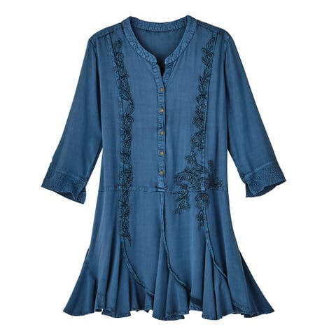 8328cfb481 Tunic Tops | Find Great Women's Clothing Deals Shopping at Overstock