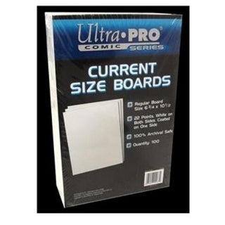 Ultra Pro Current Size Boards 6.75 X 10.5 - 100 Per Pack