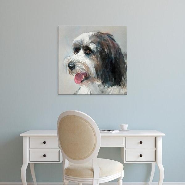 Easy Art Prints Edie Fagan's 'Harlan Tibetan Terrier' Premium Canvas Art
