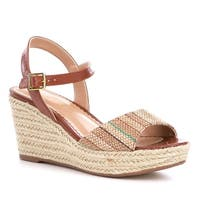 LAUREN by Ralph Lauren Womens Keara Open Toe Casual Espadrille Sandals