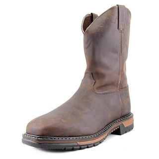 Rocky Original Ride ST Men  Steel Toe Leather Brown Work Boot