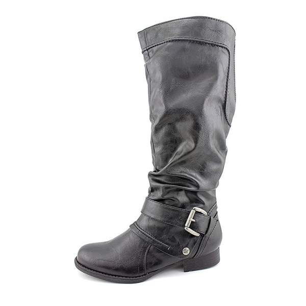 Bare Traps Womens Julee Closed Toe Knee High Fashion Boots