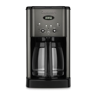 Cuisinart DCC-1200BKS Brew Central 12 Cup Programmable Coffee Maker, Black Stainless
