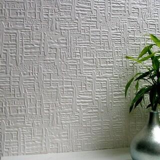 Brewster 437-RD0602 Edward Paintable Supaglypta Wallpaper